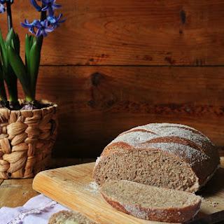 Homemade Whole Wheat Bread.