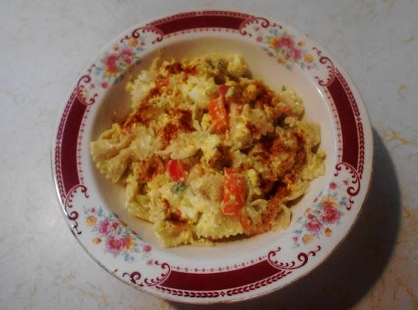 Oven Cooked Eggs Ia Bow Tie Pasta Salad Recipe