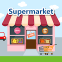 Supermarket - Learn & Play icon