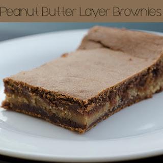 Pillsbury Bake-Off's Peanut Butter Layer Brownies Recipe #BakeOff