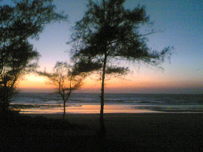 Photo: Kashid beach evening