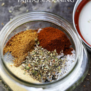 Homemade Fajitas Seasoning Mix.