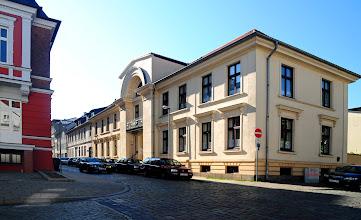 Photo: Wohnsitz des Landbaurates und Architekten Carl Heinrich Wünsch in der Landreiterstraße / Schelfstadt