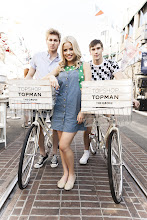Photo: Some of the lovely models at the Topshop opening at the Grove. Shop LA Style > http://bit.ly/XbGtM6