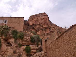 Photo: In the village where we spent the second night of the trek.