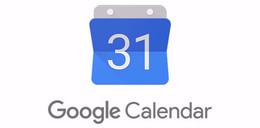 Partage d'agenda avec google calendar