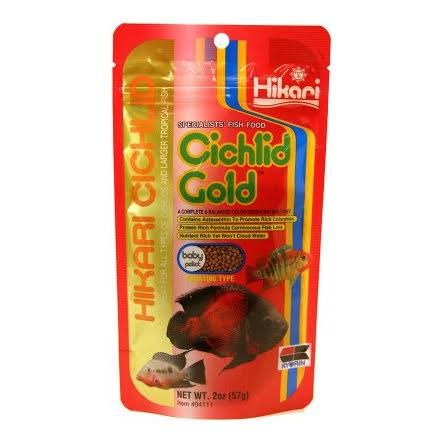 Hikari Ciklid Gold Färg Baby 57g
