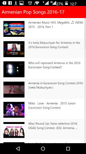 Armenian Pop Songs 2016