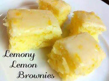 Lemon Bliss Lemon Brownies Recipe