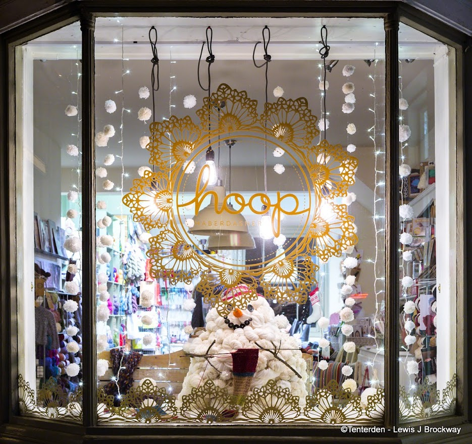Tenterden Christmas Shop Window Awards