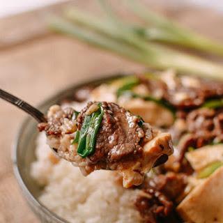Beef Tofu Stir Fry