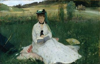 "Photo: Berthe Morisot, ""La lettura"" (1873)"