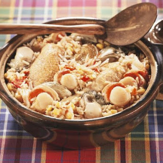 Chicken and Seafood Rice