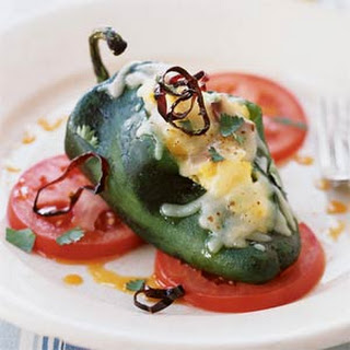 Scrambled-Egg Chiles Rellenos