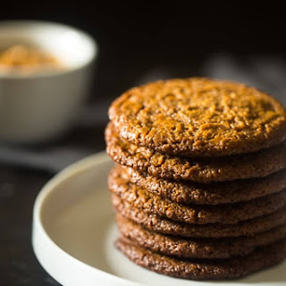 Spiced Paleo Cookies with Almond Butter {Vegan}.