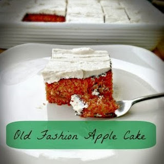 Old Fashion Apple Cake.