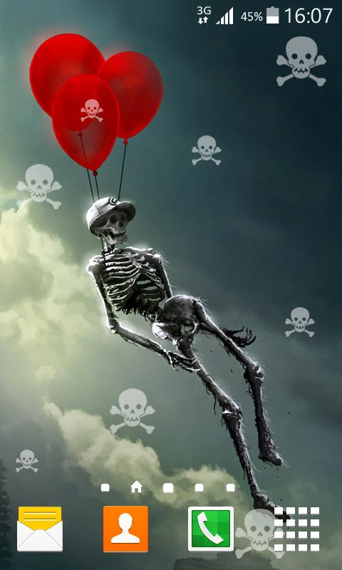 Skeleton Live Wallpaper - Android Apps on Google Play