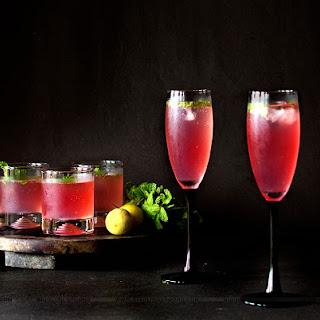 Cranberry Mint Lemonade