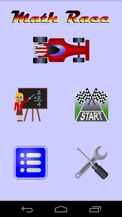 Math Race- screenshot
