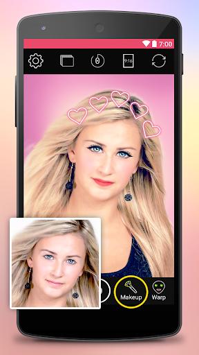 Yoplala sweet filter camera to snap video & photo  screenshots 4