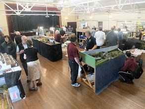 Photo: 002 A general view across the main hall quite early in the day. As usual, many familiar faces to be spotted .