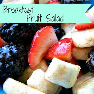 Breakfast Fruit Salad.