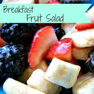 Breakfast Fruit Salad.