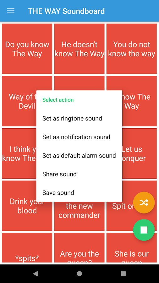 DO YOU KNOW THE WAY Soundboard- screenshot