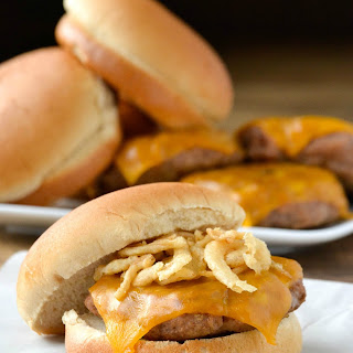 Maple Cheddar Turkey Burgers