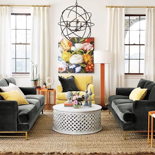 New Living Room Design Screenshot Thumbnail