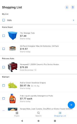 reebee: Flyers, Deals & Shopping List 4.5.8 screenshots 13