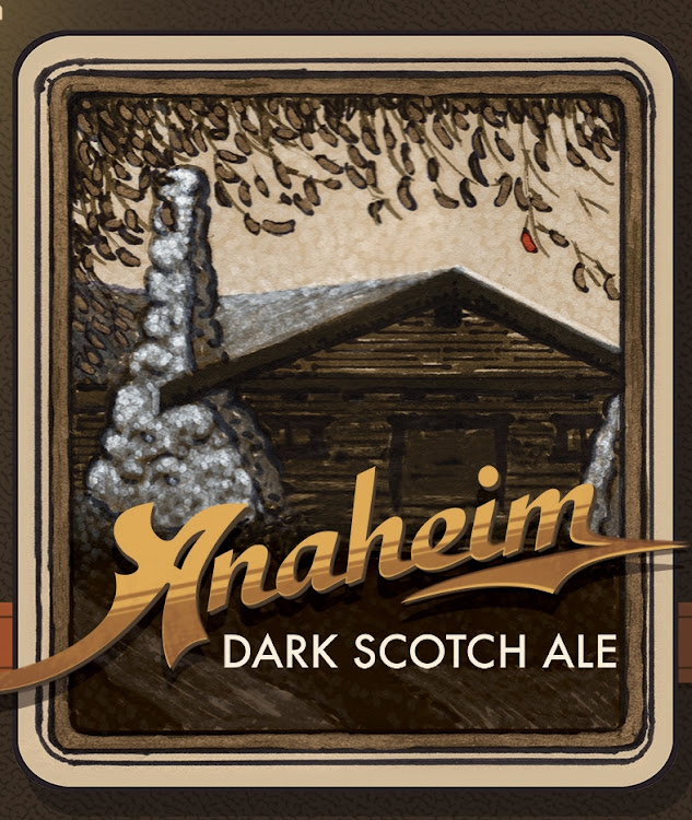 Logo of Anaheim Dark Scotch Ale