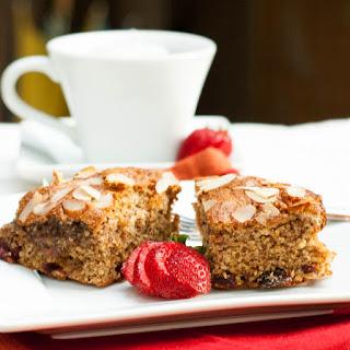 Gluten Free Almond Cranberry Cake