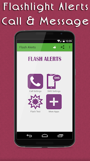 Flash Alerts On Call Message