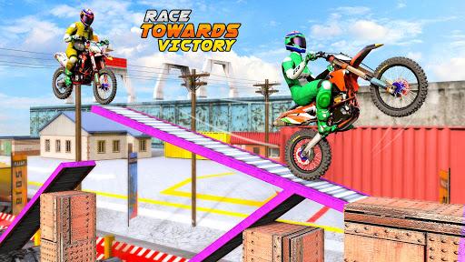 Trial Bike Racing Stunts : New Stunt Bike Games 3.9 screenshots 9