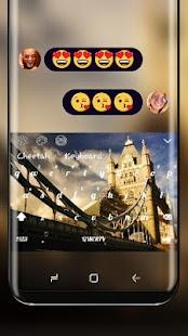 UK Big Ben Theme London Keyboard - náhled