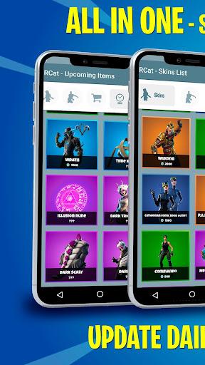 Battle Royale Skins, Emotes & Daily Shop - FBRCat screenshot 1