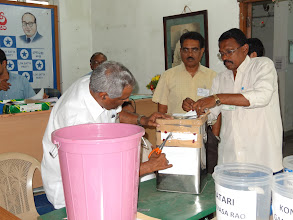 Photo: State President Election Counting