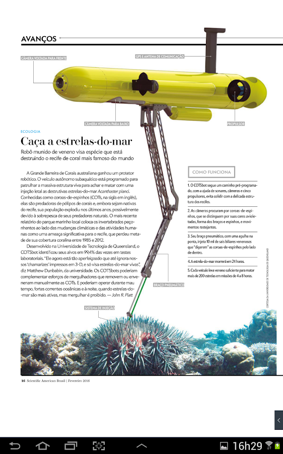 Scientific American Brasil- screenshot