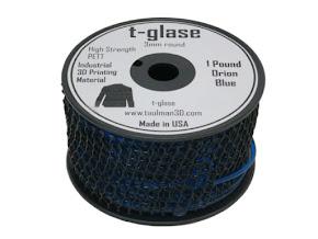 Taulman Blue T-Glase - 3.00mm (1lb)