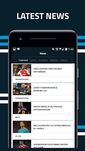 Goal.com 10.0.3 screenshots 1