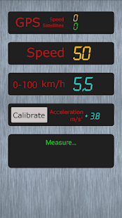 Measure acceleration Demo- screenshot thumbnail
