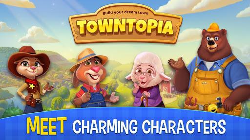 Towntopia: Build and Design your adorable Home apkmr screenshots 1