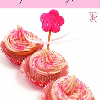 Japanese Sugar Plum Fairy Cupcakes.