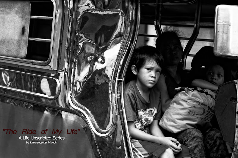 """Photo: """"The Ride of My Life"""" (A New Series)  I've been a commuter for the most part of my life and have experienced the travails of travel in and around the metro.  I'm quite certain that the degree of difficulty each Filipino passenger faces now has since increased... (Times have changed, most will say...)  The rush and crush of humanity fighting for a spot in a jeepney or the train. The unnecessary exposure to the elements - heat, rain, dust, noise, virus. The wasted hours, spent energy stuck in traffic. The danger of being held up... Etcetera.  Through the years, fortunate circumstances have come my way to pluck me out of the rigors of 'commuting life'.  I still commute from time to time, and, actually, feel nostalgic doing so. I've found it to be a great way of keeping myself grounded, of reminding me about where I came from, and of teaching myself to continually count my blessings.  Here's a series dedicated to our common, daily travels.  I hope you will enjoy viewing and reading the stories behind each photograph I will post in the coming days and months.  ."""