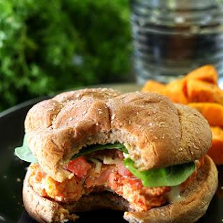 Caesar Salmon Burgers