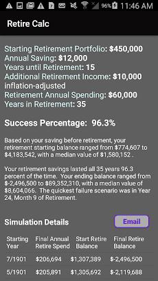 Retirement Investing Calculator Simulator - Retireのおすすめ画像1