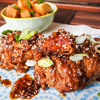 Spicy Ginger and Garlic Fried Chicken Recipe