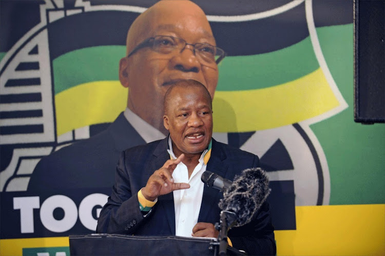 ANC chief whip Jackson Mthembu made claims of attempts to rig election in favour of NDZ. Image: RUSSELL ROBERTS
