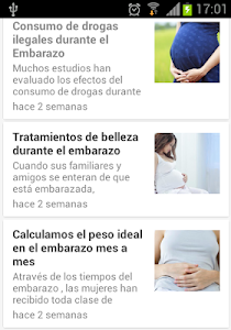 Semanas de Embarazo screenshot 2